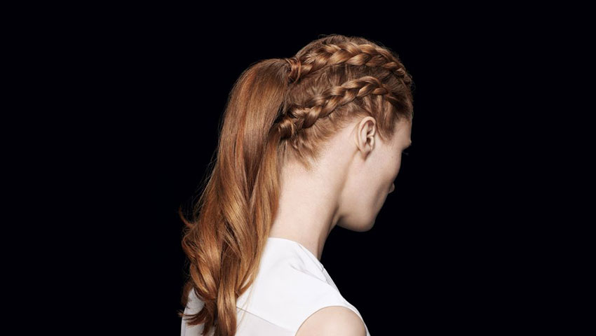 coiffure femme rousse dos